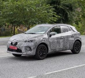 Renault тестирует Captur нового поколения
