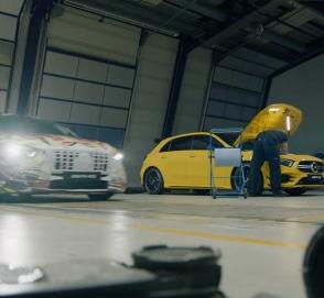 Тюнеры сделали 600-сильный хэтчбек Mercedes-AMG A45