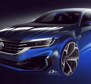 Новый Volkswagen Passat представлен официально