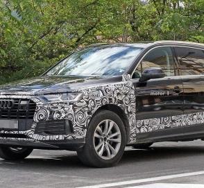 Audi готовит к премьере обновленный кроссовер Q7