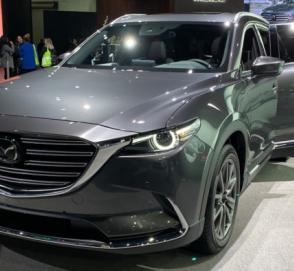 Mazda презентовала обновленный кроссовер CX-9