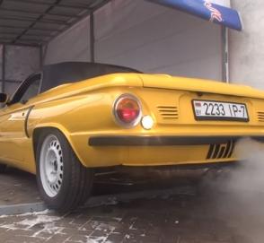 В Белоруссии собрали гибрид Porsche и «Запорожца»