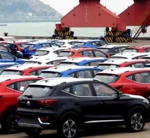 Китай рекордными темпами наращивает импорт автомобилей