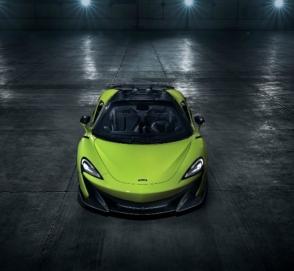 McLaren показал длиннохвостый родстер 600LT Spider