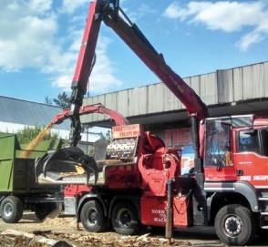 Украинцам представили уникальный грузовик Eschlbоck Biber