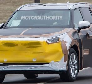 Toyota вывела на тесты новый Highlander