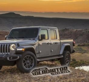 В сети рассекретили дизайн Jeep Gladiator