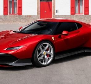 Ferrari показала уникальный суперкар