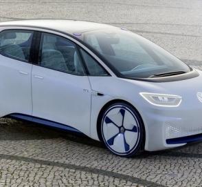 Первый электрический Volkswagen семейства I.D. засекли на тестах