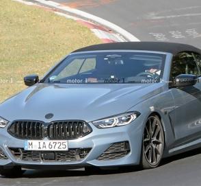 BMW вывела на финальные тесты кабриолет 8-Series