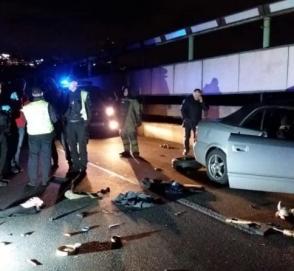 Опубликовали видео задержания «минера» моста Метро