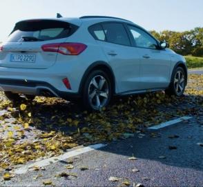 В компании Ford исследовали опасность мокрых листьев на дороге и сравнили их со снегом