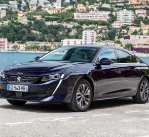 Peugeot 508 снова стал седаном