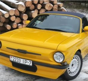 «P'ZAZ»: в Сети показали гибрид «Запорожца» и Porsche