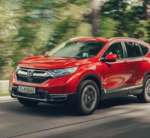 Гибридная Honda CR-V выйдет на европейский рынок в 2019 году
