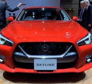 Автосалон в Токио: состоялся дебют нового Nissan Skyline