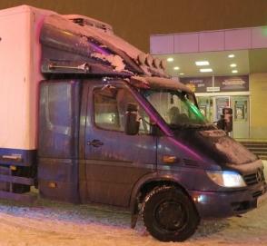 Дальнобойный Mercedes-Benz Sprinter удивил кабиной
