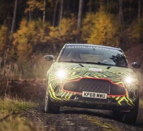 Aston Martin показал кроссовер DBX в камуфляже