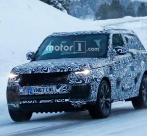 Купеобразный Range Rover показался на тестах