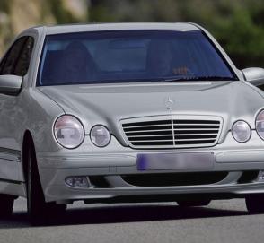 «Глазастый» Mercedes-Benz в современном представлении дизайнеров
