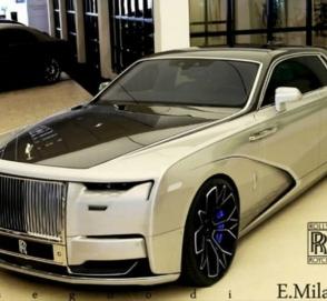 Появились рендеры нового роскошного Rolls-Royce Ghost