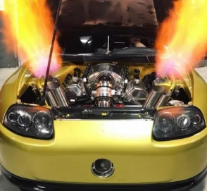 Как звучит 2500-сильная Toyota Supra
