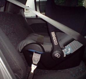 Детское автокресло с подушками безопасности прошло краш-тест