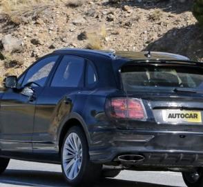 Обновленный Bentley Bentayga впервые замечен на тестах