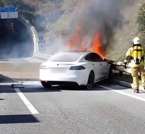 Американцы озадачены сгоревшей Tesla режиссера Майкла Морриса