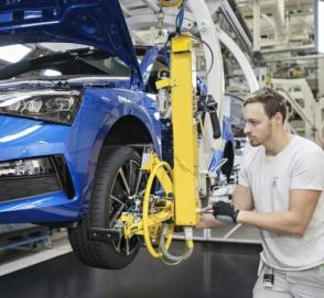 В Украине снижается производство автомобилей
