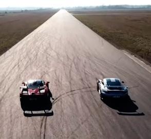 Битва равных: McLaren Senna выставили против Porsche 911 GT2 RS