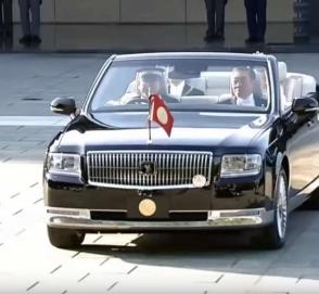 Император Японии обзавелся особым кабриолетом Toyota Century