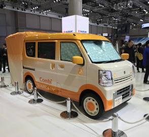 Автосалон в Токио: Suzuki презентовала автомобиль для мам