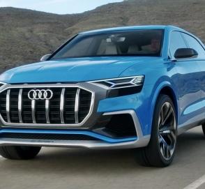 Audi объявила сроки премьеры кроссовера Q8