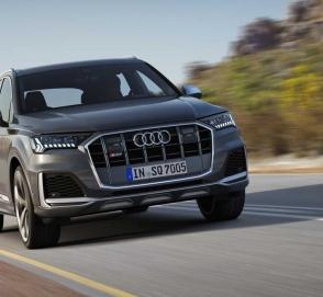 Audi представила обновленный кроссовер SQ7