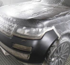 Как списанный Range Rover превращается в «конфетку»