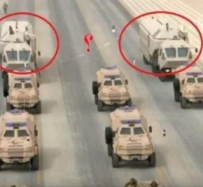 В Саудовской Аравии заметили необычный военный транспорт Mercedes