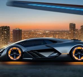 Стало известно название первого гибридного Lamborghini