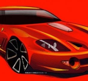 Появились первые изображения будущего фургона Ferrari