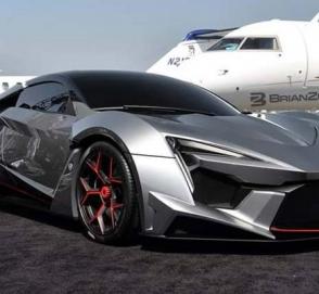 Японец купил 5 одинаковых суперкаров за 7 миллионов долларов