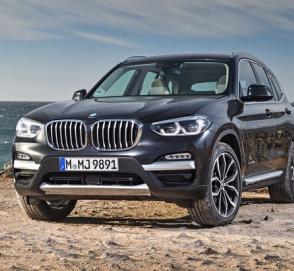 BMW начнет выпуск гибридных кроссоверов Х3 и Х5