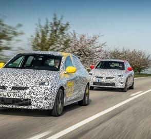 Opel вывел на финальные тесты новую Corsa