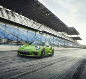 В Украине заметили новейшую модель Porsche