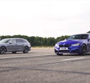 BMW M3 CS выставили против Audi RS4 Avant