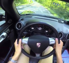 Водители Porsche тоже бывают идиотами