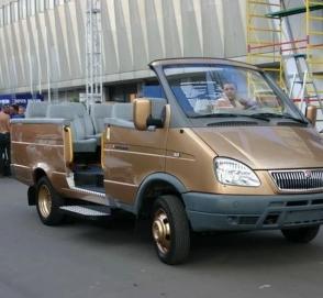 В сети показали уникальную ГАЗель-кабриолет