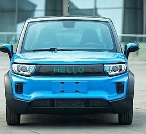 Китайцы выпустили автомобиль с дисплеем вместо радиаторной решетки