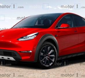 Tesla Model Y представили в виде хардкорного внедорожника