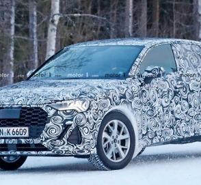 Новый купеобразный кроссовер Audi замечен на тестах
