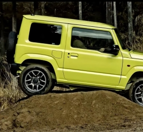 Новый Suzuki Jimny показал свои внедорожные таланты